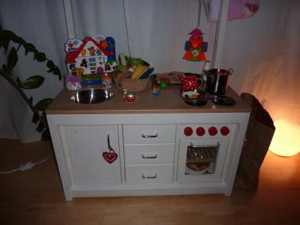 Küche bespielt