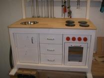 Küche fertig front